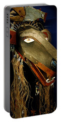 Indian Animal Mask Portable Battery Charger by LeeAnn McLaneGoetz McLaneGoetzStudioLLCcom