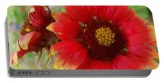 Indian Blanket Flowers Portable Battery Charger