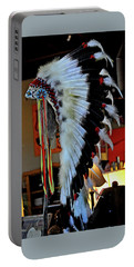 Indian Chief Headdress Portable Battery Charger