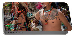 Indian Dancers Portable Battery Charger