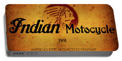 Indian Motocycle 1901 - America's First Motorcycle Company Portable Battery Charger