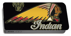 Indian Motorcycle Logo Series 2 Portable Battery Charger