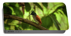 Indian Paradise Flycatcher Portable Battery Charger