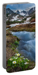 Portable Battery Charger featuring the photograph Indian Peaks Wilderness by Steven Reed