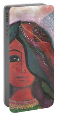 Indian Rajasthani Woman Portable Battery Charger