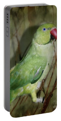 Indian Ringneck Parrot Portable Battery Charger