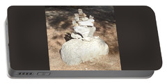 Portable Battery Charger featuring the photograph Indian Rock Formation by Jay Milo