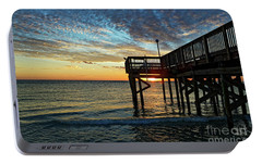 Portable Battery Charger featuring the photograph Indian Rocks Sunset by Paul Mashburn