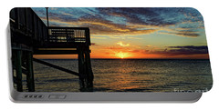 Indian Rocks Sunset Two Portable Battery Charger by Paul Mashburn