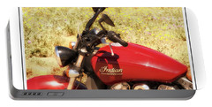 Indian Scot Motor Cycle Portable Battery Charger