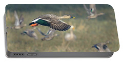 Indian Spot-billed Duck 01 Portable Battery Charger