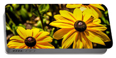Indian Summer Gloriosa Daisy Portable Battery Charger
