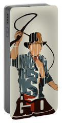 Indiana Jones - Harrison Ford Portable Battery Charger