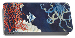 Indigo Ocean - Floating Octopus Portable Battery Charger