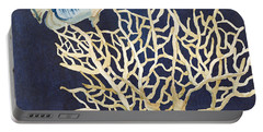 Indigo Ocean - Tan Fan Coral N Angelfish Portable Battery Charger