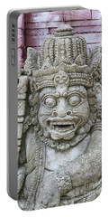 Indonesian Statue #2 Portable Battery Charger