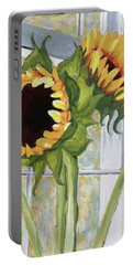 Indoor Sunflowers II Portable Battery Charger