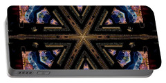 Industrial Grunge 2 Portable Battery Charger by Lori Kingston