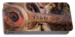 Industrial Patina Portable Battery Charger