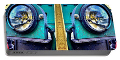 Industrial Train Lights Fine Art Portable Battery Charger