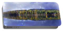 Portable Battery Charger featuring the photograph Inez Lake Montana by Janie Johnson