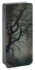 Infared Tree Art Twisted Branches Portable Battery Charger