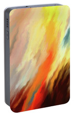 Portable Battery Charger featuring the digital art Inferno by Matt Lindley
