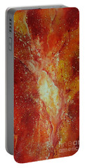Inferno Portable Battery Charger by Tamyra Crossley