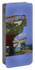 Infinity Awaiting Winter - Plein Air Catalina Island Portable Battery Charger