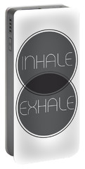 Inhale Exhale Portable Battery Charger