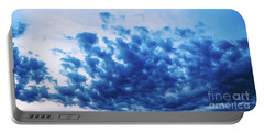 Portable Battery Charger featuring the photograph Ink Blot Sky by Colleen Kammerer