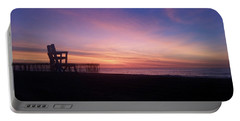 Inlet Beach At Dawn Portable Battery Charger by Robert Banach
