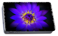 Portable Battery Charger featuring the photograph Inner Glow by Keith Hawley