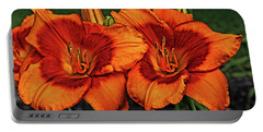 Portable Battery Charger featuring the photograph Innocent Fire by Judy Vincent