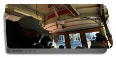 Inside A Cable Car Portable Battery Charger by Steven Spak