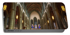 Inside Christchurch Cathedral Portable Battery Charger