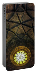 Portable Battery Charger featuring the photograph Inside Jeronimos by Carlos Caetano