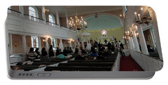 Inside The S. Georges Church Episcopal Anglican Portable Battery Charger