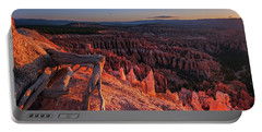 Portable Battery Charger featuring the photograph Inspiration Point by Edgars Erglis