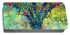 Inspirational Art - Absolute Joy - Sharon Cummings Portable Battery Charger