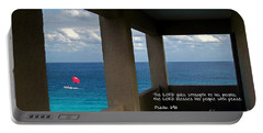 Inspirational - Picture Windows Portable Battery Charger