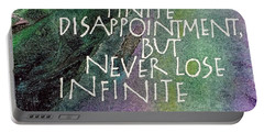 Inspirational Saying Hope Portable Battery Charger