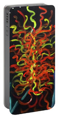 Inspired By Chihuly Portable Battery Charger