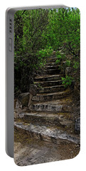Portable Battery Charger featuring the photograph Instep With Nature V53 by Mark Myhaver
