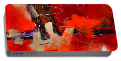 Intensity - Art By Elise Palmigiani Portable Battery Charger by Elise Palmigiani
