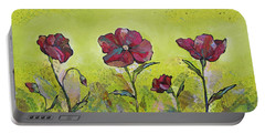 Intensity Of The Poppy II Portable Battery Charger by Shadia Derbyshire