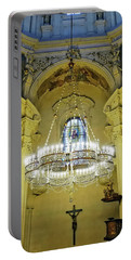 Interior Evening View Of St. Nicholas Church In Prague Portable Battery Charger