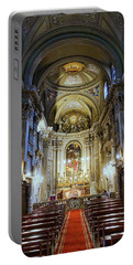 Interior View Of Santi Vincenzo E Anastasio A Fontana Di Trevi In Rome Italy Portable Battery Charger