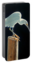 Interlude - Snowy Egret Portable Battery Charger