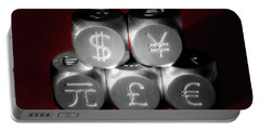 International Currency Symbols II Portable Battery Charger